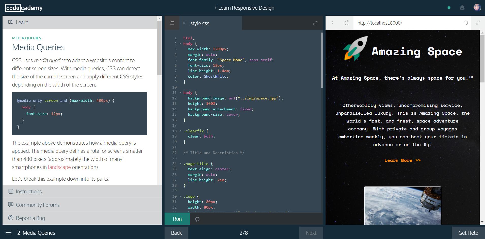 Codecademy | HollyPryce.com