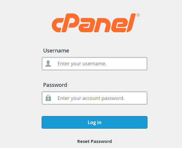 cPanel log in | HollyPryce.com