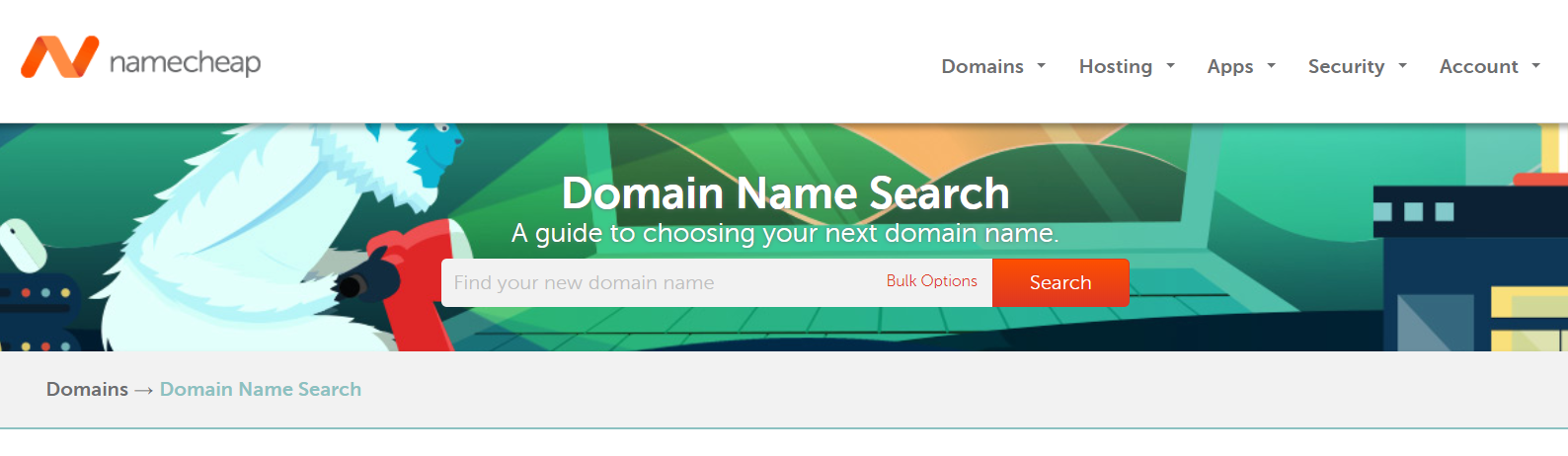 Domain name search in Namecheap | HollyPryce.com