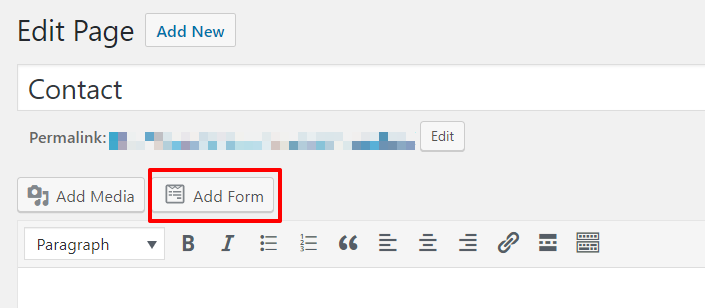 Add form to post or page | HollyPryce.com