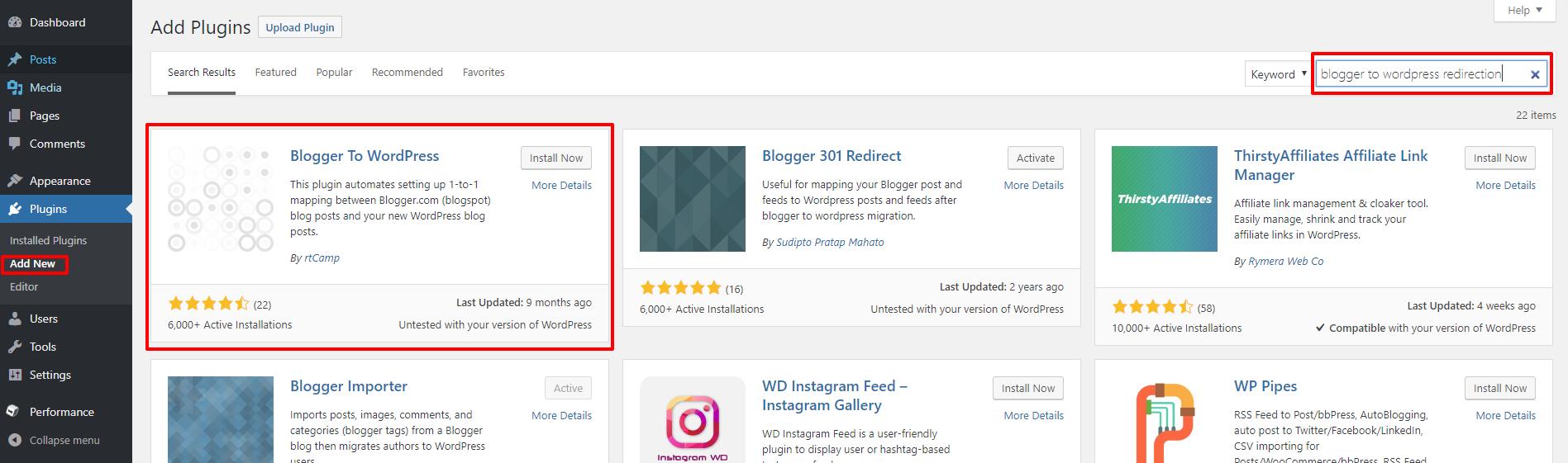 Blogger to WordPress plugin | HollyPryce.com