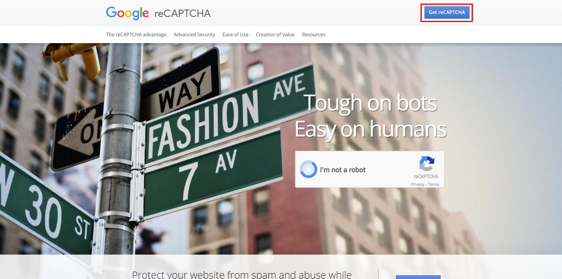 Google reCAPTCHA website | HollyPryce.com