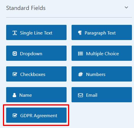 WPForms GDPR agreement option | HollyPryce.com