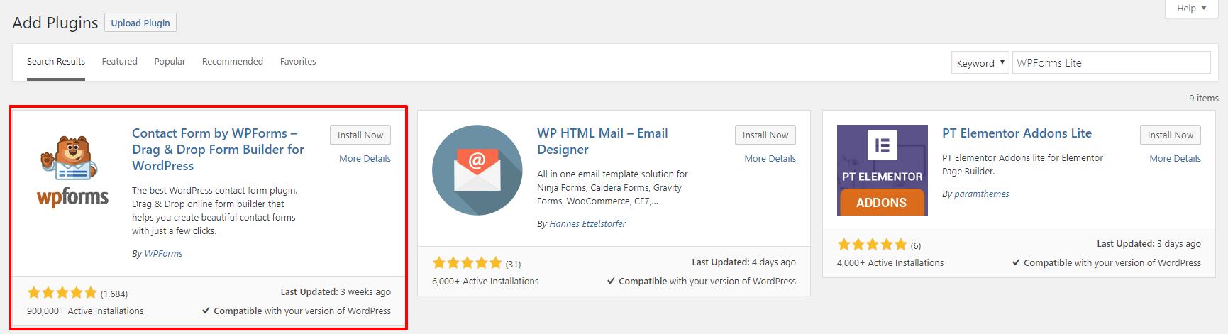 WPForms plugin | HollyPryce.com