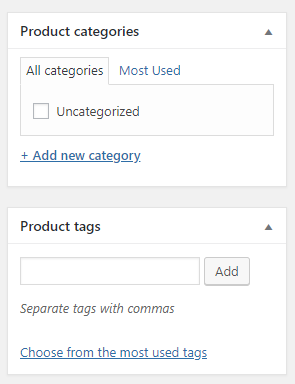 Product categories and tags in WooCommerce | HollyPryce.com