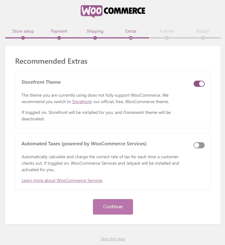 WooCommerce extra options | HollyPryce.com