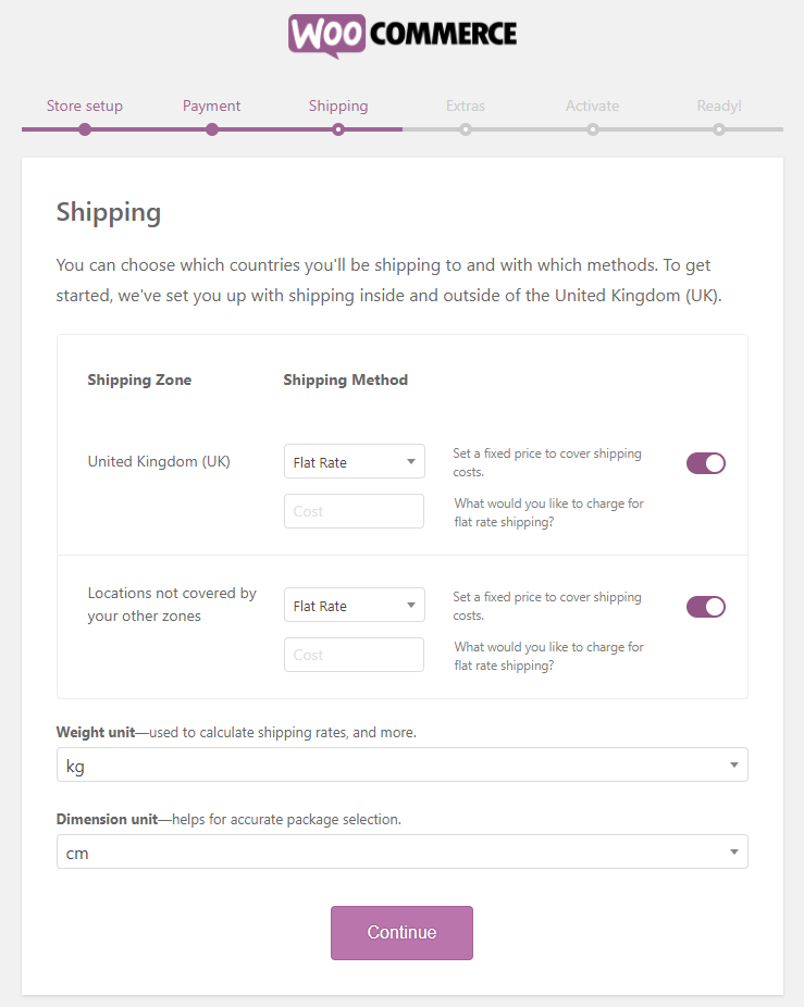 WooCommerce shipping options | HollyPryce.com