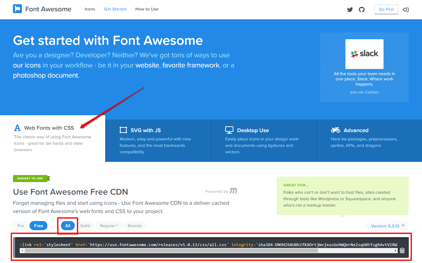 Web Fonts with CSS Font Awesome   HollyPryce.com