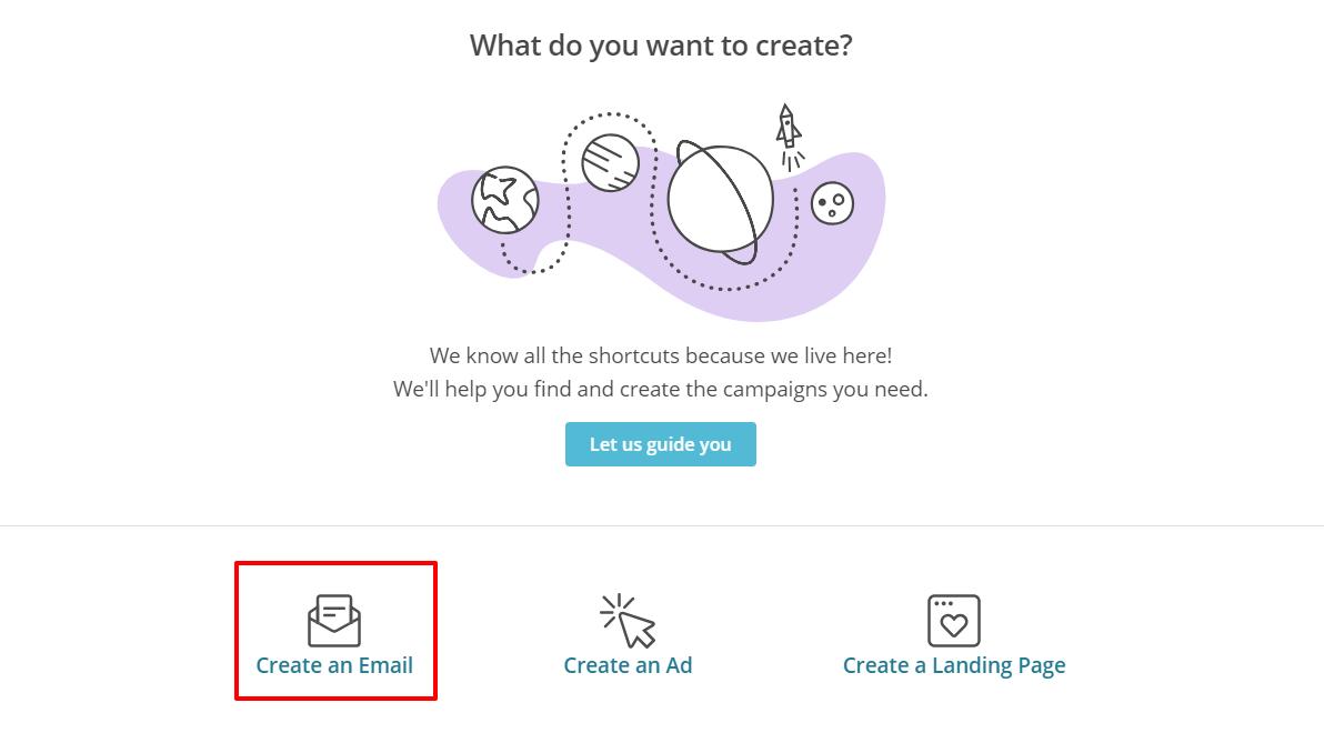 MailChimp create campaign | HollyPryce.com