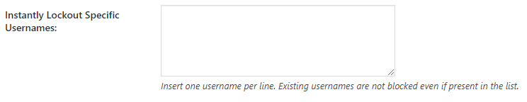Login lockdown options | HollyPryce.com