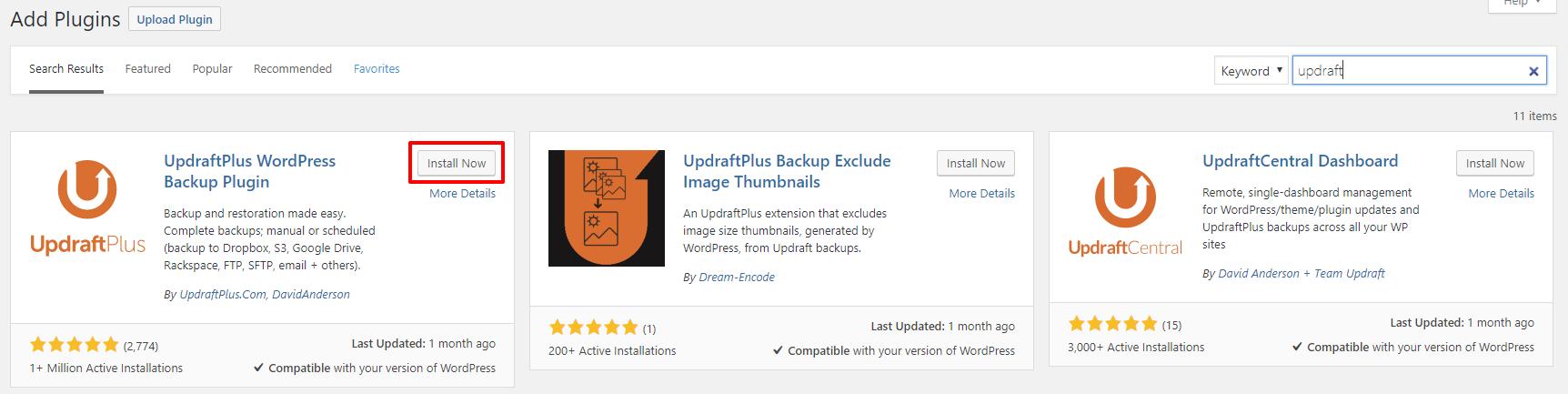 UpdraftPlus plugin | HollyPryce.com
