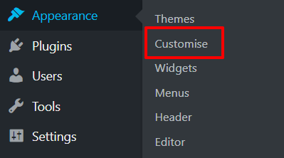 Customise page in WordPress | HollyPryce.com