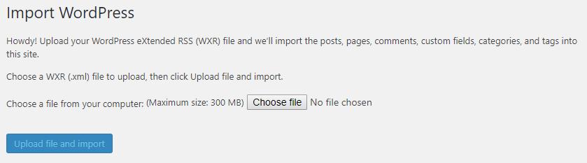 Import content into WordPress   HollyPryce.com