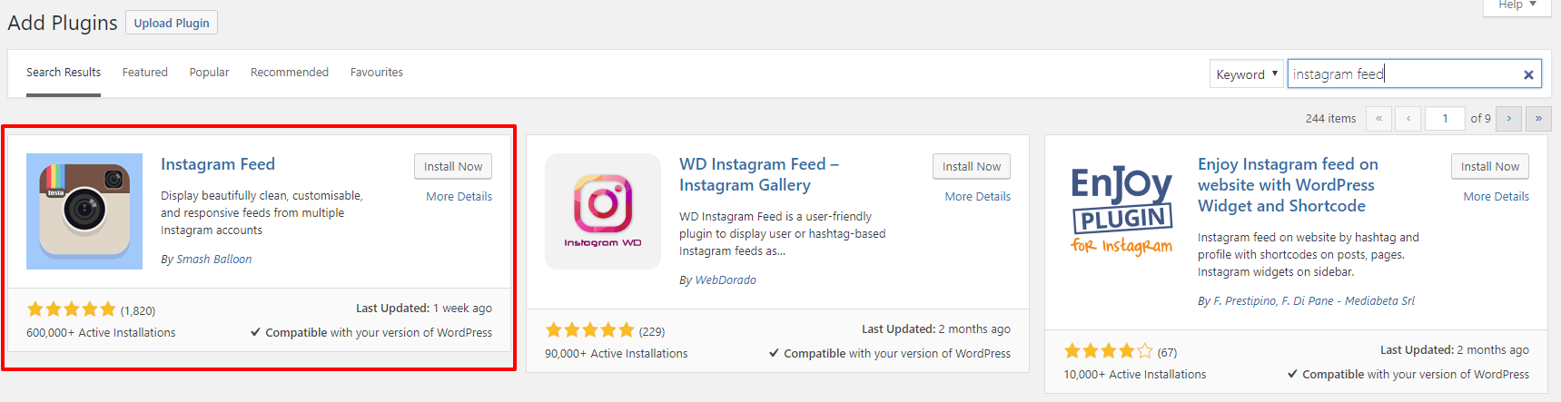 Instagram feed plugin for WordPress | | HollyPryce.com