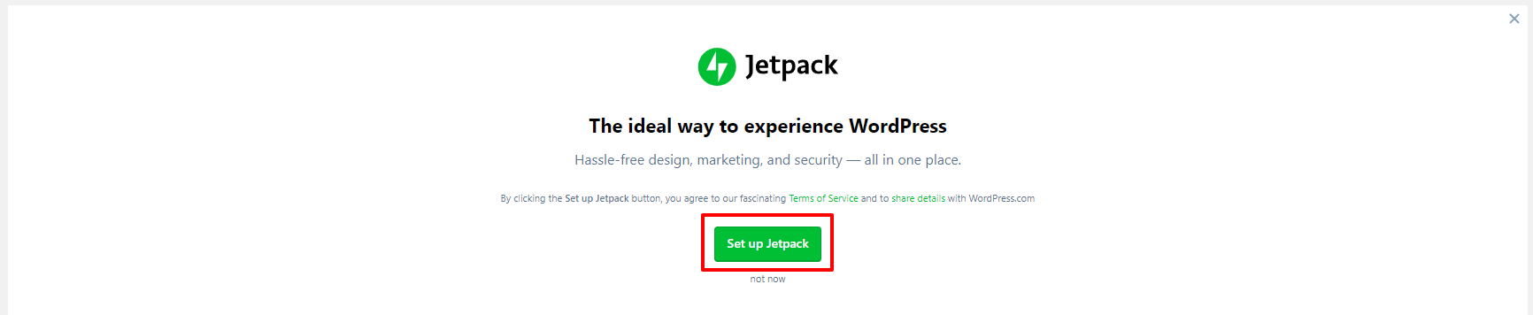 Set up Jetpack in WordPress | HollyPryce.com