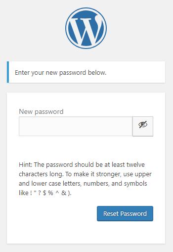 Set password in WordPress | HollyPryce.com