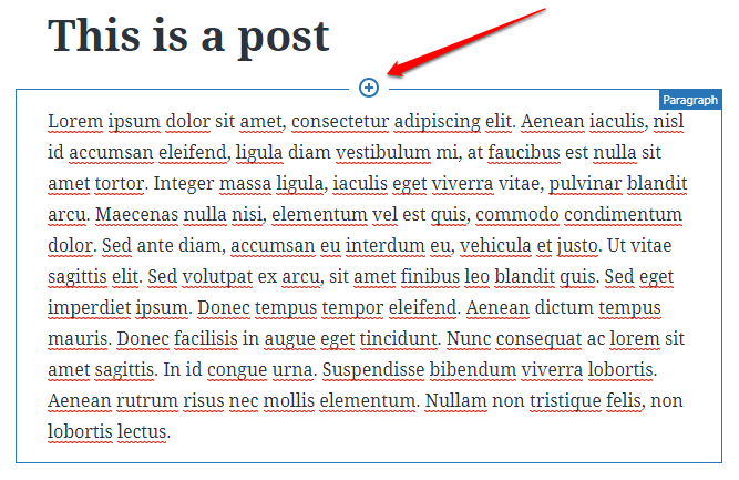 How to add a new block before an existing block in Gutenberg | HollyPryce.com