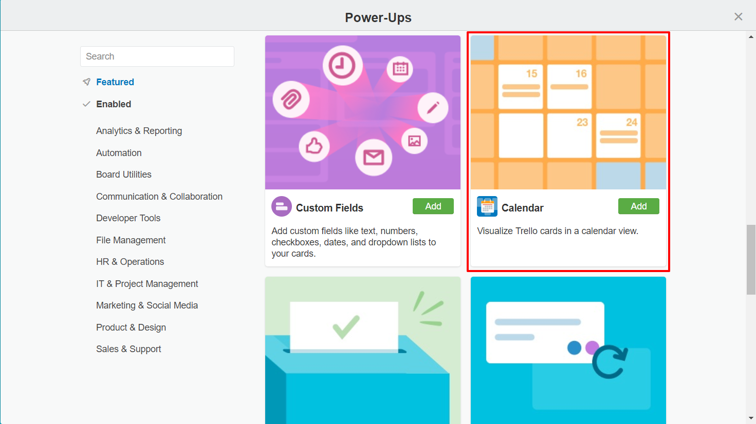 Calendar power-up in Trello | HollyPryce.com