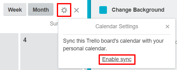Calendar sync in Trello | HollyPryce.com