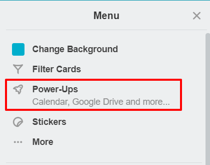 Board power-ups in Trello | HollyPryce.com