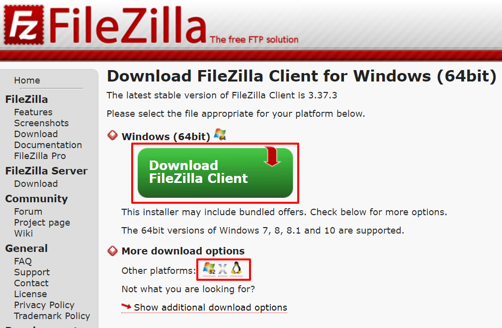 Download FileZilla client | HollyPryce.com