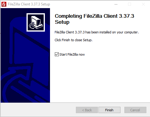 Install FileZilla client | HollyPryce.com
