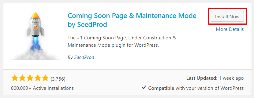 Coming Soon Page & Maintenance Mode by SeedProd plugin installation | HollyPryce.com