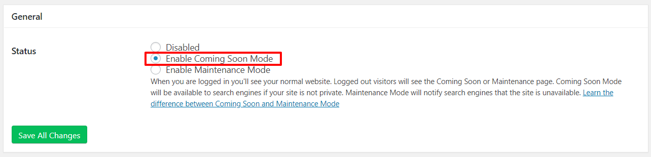 Enable Coming Soon Mode | HollyPryce.com