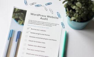 How to audit your WordPress website